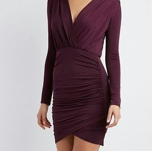 Charlotte Russe Dresses - Ruched Bodycon Dress